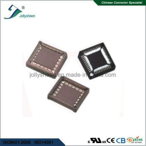Pitch 1.27 Plcc IC SMT Type Socket  Brown Housing pictures & photos