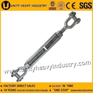 Us Type Hot DIP Galv Forged Jaw Jaw Lashing Turnbuckle