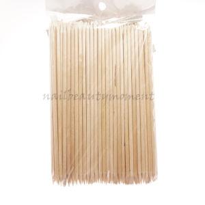 Nail Art Manicure Orange Wooden Stick Tool 100 PCS (NT09) pictures & photos