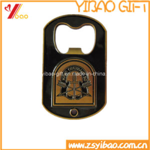 Hot Sale Customized Plating Antique Gold Metal Bottle Opener (YB-SM-02) pictures & photos