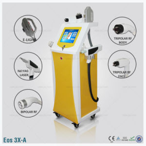 Elight+RF+ND YAG Laser Multi-Function Machine pictures & photos