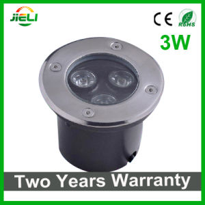 Outdoor Waterproof 3W RGB LED Underground Light pictures & photos