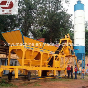 Mobile Concrete Batching Plant (YHZS75) pictures & photos