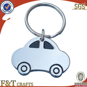 Car Shape Metal Keychain (FTKC1058H) pictures & photos