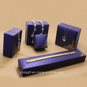 Royal Purple Special Paper Jewelry Boxes Set pictures & photos