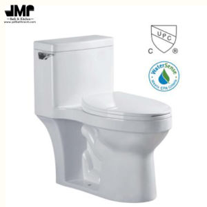 2186 Sanitary Ware Bathroom Single Flush Wc Cupc Siphonic One Piece Ceramic Toilet pictures & photos