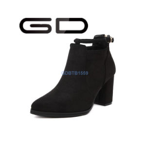 Simple Design Gdshoe Factory Whoelsale Fashion Women Ankle Booties