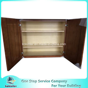 American Style Kitchen Cabinet Bamboo Shakerw3630 pictures & photos