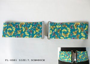 Fashion Printed Elastic Belt Fl-0581
