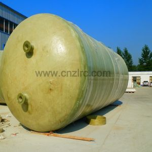 FRP Horizontal Chemical Oil Fuel Storage Tank Transportation Treatment pictures & photos