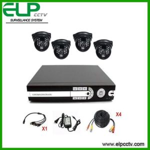 4CH CCTV Security System (ELP-DVR604HV-106LP)