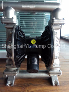 2 Inch Stainless Steel Circul Pneumatic Double Diaphragm Air Pump pictures & photos