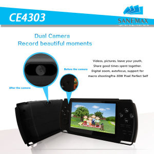 "4.3"" Rk3028 A9 1.2GHz Android 4.2 Handheld Game Player Fashionable Design 64bit Dual Core Android Multiplayer Game Tablet Built-in Simulator (CE4303)"