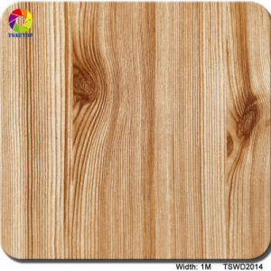 Tsautop 1m Tswd1832 Streight Wood Hydrographic Film Water Transfer Printing Film pictures & photos