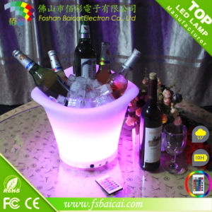 LED Ice Bucket with Color Changing pictures & photos