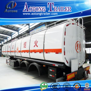 China Manufacurer 40000 to 50000L Tri-Axle Fuel Tanker Truck Trailer pictures & photos