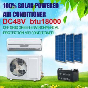 100% DC 48V 18000 BTU Split Solar Air Conditioner pictures & photos