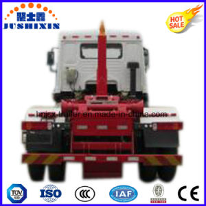Dongfeng Hook Arm Lifting Garbage Truck with Cummins Engine pictures & photos