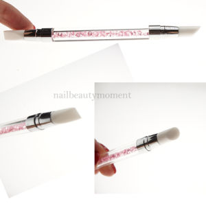 Art Nail Beauty Crystal Rhinestone 2 Ways Brush Pens (B046) pictures & photos
