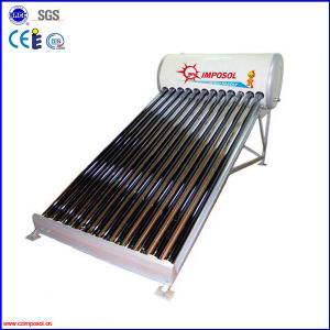 Non-Pressure Vacuum Tube Solar Water Heater pictures & photos