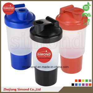 400ml 100% Food Grade New Material Smart Shaker Bottle pictures & photos