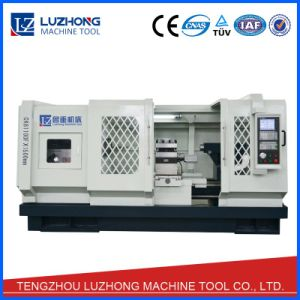 Large Heavy Duty CNC Lathe Machine with Specifications (CK6180F CK61100F CK61125F) pictures & photos