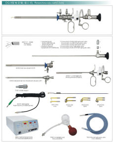 Endoscope Resectoscopy Set (Lockable) pictures & photos