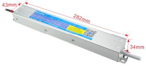24V 150W IP67 Slim Housing Efficiency90% PWM AC to DC Waterproof LED Power Supply pictures & photos