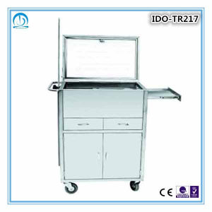 Medication Emergency Trolley with Drawers pictures & photos
