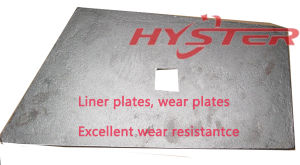 Bimetallic White Iron Wearplates for Hopper pictures & photos