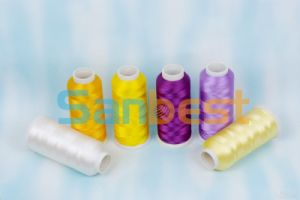 Colorful Polyester Embroidery Thread with High Quality pictures & photos