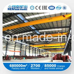 1t 2t 3t 5t 10t 15t 20t Electric Single Girder Hoist Overhead Crane pictures & photos