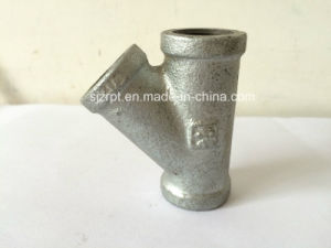 Reducing Galvanized Tee Malleable Iron Pipe Fittings pictures & photos