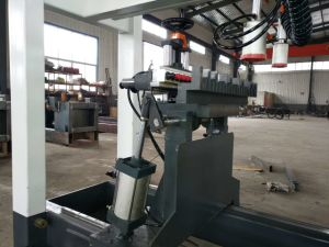 Drilling Holes Machine Three Lines Wooden Multi Spindle Drilling Machine pictures & photos