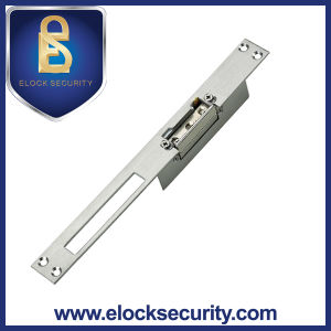 European Standard Electric Strike Lock with Stainless Steel Plate