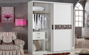 Living Room Home Furniture Wooden Wardrobe (zy-015) pictures & photos