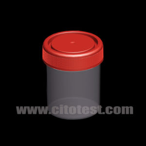 80 Ml Plastic Specimen Container with Triple Molded Graduation pictures & photos