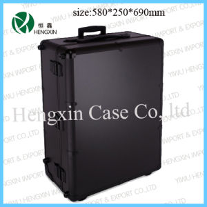 Professionable Makeup Trolley Case with Light and Mirror (HX-P2586) pictures & photos