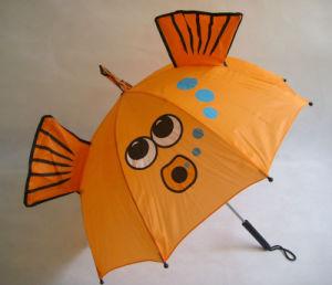 2017 New Design OEM Polyester Children Umbrella pictures & photos