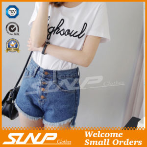 Summer Hot Sexy Hot Fashion Women′s Wear Shorts Denim Jeans