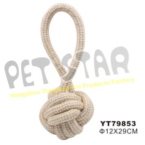 Natural Knitted Rope Toy for Dog pictures & photos