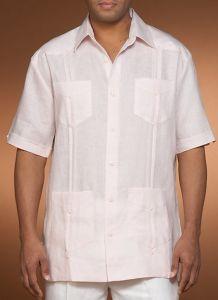 Demure and Confortable Men′s Linen Shirt Shm-01 pictures & photos