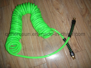 PU Coil Hose with Swivel Fittings for Air and Liquid pictures & photos