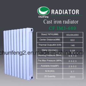 Cfim 3-680 Hot Water Heating Radiator on Sale Algeria pictures & photos