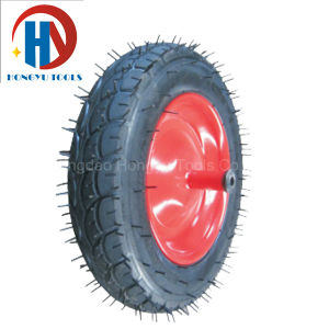 Rubber/PU Foam Wheel Barrow/Hand Truck Tyre pictures & photos