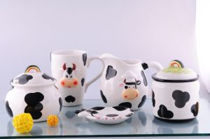 Ceramic Cow Set