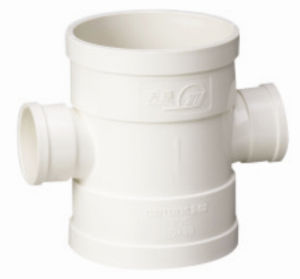 PVC Pipe Fittings for Water Drainage Reducing Cross (C12) pictures & photos