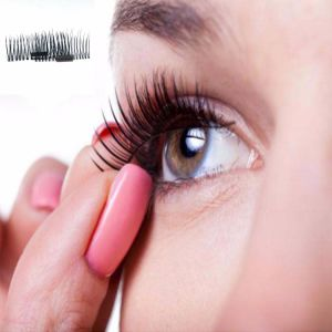 3D Magnetic False Eyelashes Handmade Thick Long Cosmetic Eye Lashes Extension pictures & photos