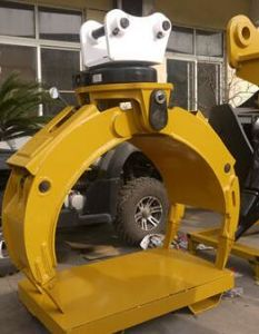 360 Degree Rotating Grab for 25t Excavator pictures & photos