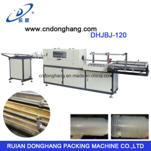 Dispasable Plastic Cup Curling Machine Model Dhjbj-120 pictures & photos